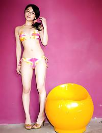 Fair Skinned Asian Beauty In Bikini