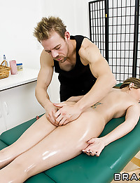 Oiled Vixen Enjoys Riding Dong