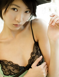Ryou Shinhono is looking hot as hell in her sexy nightie today.