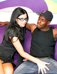 India Summer takes black cock