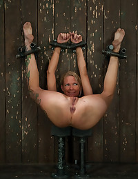 Caning and hot bondage