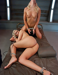 Horny Blonde Duo Enjoy Their Toys