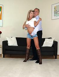 Very horny willing street slut shagging british gentleman