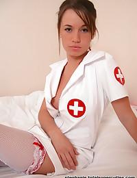 Hot nurse bitch stripping in ...