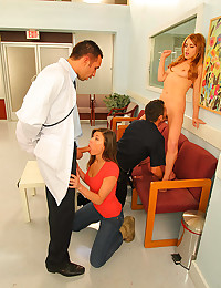 Cute hospital patient big cock fucked