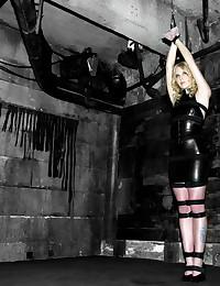 Fair Skinned Babe Suspended T...