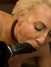 The slaves aim to please, but end up riding the fucking machine to entertain when they cannot properly serve.