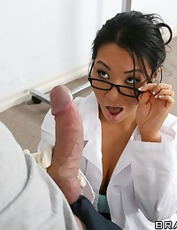 Horny Asian Doctor Drilled