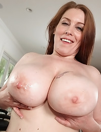 Big Tits And Cock Perfect Together