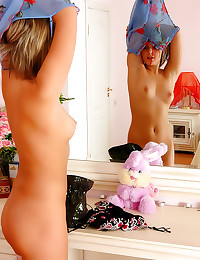 Lingerie and stockings on les...