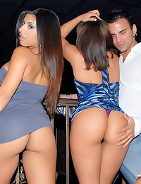 Party sluts get laid in club