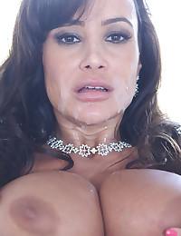 Classy Milf Lisa Milks Thick Cock