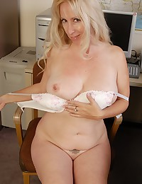 Heather gets naked after work!