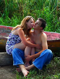 Lovemaking with gorgeous teen