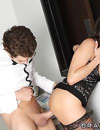 Sexy milf with big tits