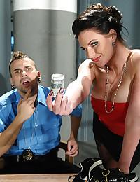 Horny Phoenix Gets Steamy Interrogation