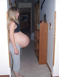 Real pregnant girlfriends having Sex