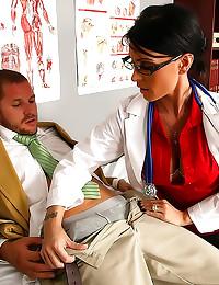 Dirty doctor slut fucked hard