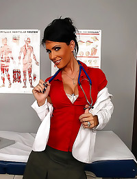 Dirty doctor slut fucked hard