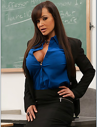 Lisa Ann Enjoys Classroom Sex
