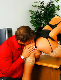 Tanya is amazing office slut