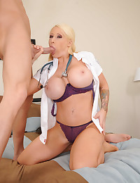 Big its blonde paramedic fucked