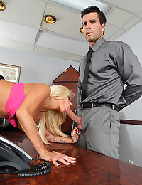 Reality fuck in the office