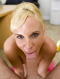 Hot Blond Mom With Tight Snatch
