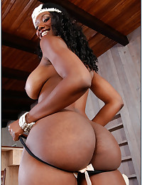 Black pornstar with bubble butt