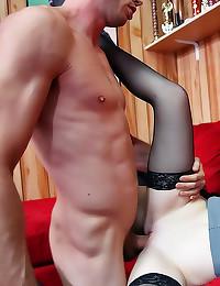 Sex with redhead Faye Reagan