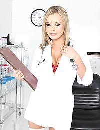 Naughty Blond Doctor Bree Olsen
