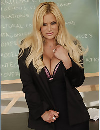 Blondie Shyla The Busty Teacher