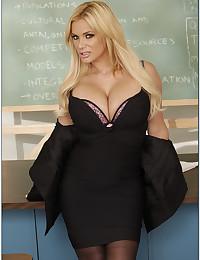 Blondie Shyla The Busty Teacher