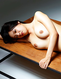 Solo Asian with hot pussy