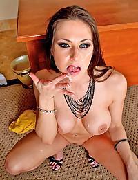 Hot pornstar craves big cock