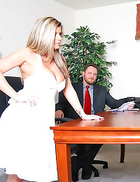 Seductive wife visits him in ...