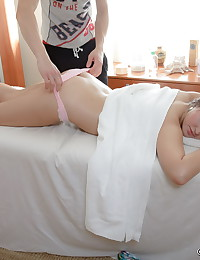Nasty gal is willing to continue this fantastic massage