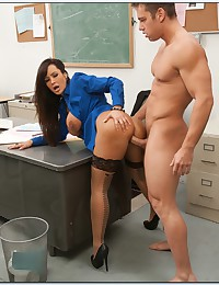 Naughty teacher breaks the rules