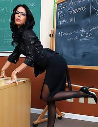Hot teacher milf hardcore sex