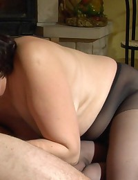 Usual date with a fiery milf ends up with hard screwing for a kinky chap