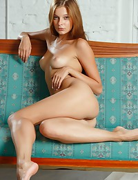 Angelina B bares it all for FEMJOY in When She Comes.