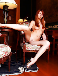 Erotic young redhead is gorge...