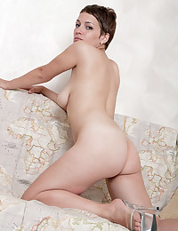 Alluring Beauty Fucks Her Own Pussy