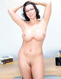 Milf pounded on a desk
