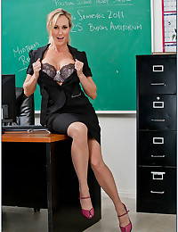 Teacher with big tits