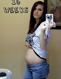Mixed and hot pics of pregnant girlfriends