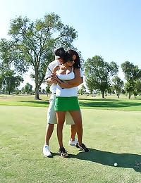 He fucks his golfing girl