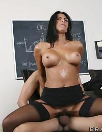 Big tit slut fucked