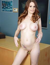 Schoolgirl with excellent tits
