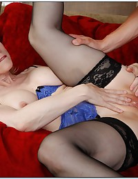 Milf in hot lingerie fucked